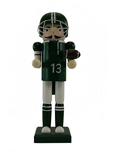 (12 inch Green Football Player Nutcracker [125204G])