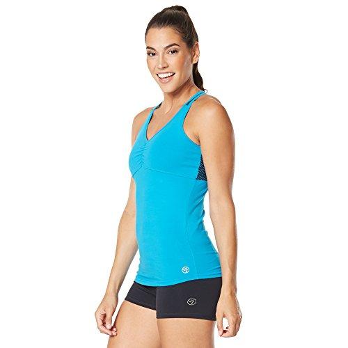 Zumba Wt Boot Tank Mujer Azul Fitness® Camp rBxqrZS