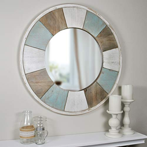 FirsTime & Co. Cottage Timbers Accent Wall Mirror, 27