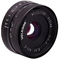 MonkeyJack 32mm F1.6 Manual Focus Telephoto Lens for Nikon E Mount Cameras A6300 A650