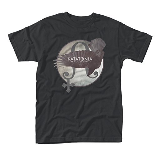 Katatonia T Shirt Fall Of Hearts Official Mens Black