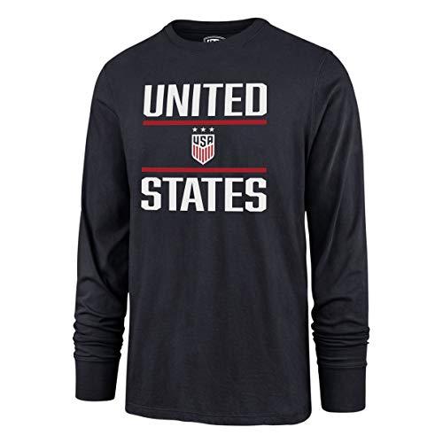 - OTS World Cup Soccer Men's Rival Long Sleeve Tee, U.S. Women's Soccer Team, Double Bar Navy, XX-Large
