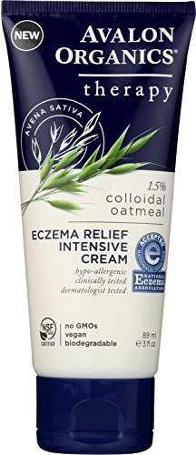 Avalon Organics Therapy, Eczema Relief Intensive Cream, 3.0 Ounces