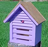 Bird Houses by Mark Homestead Ladybug House - Lavender