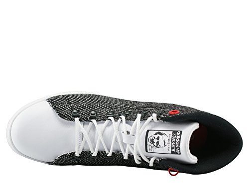 Stan Smith Winter white/ jungle ink /red