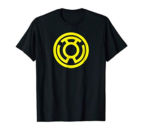 (Green Lantern Yellow Emblem T Shirt)