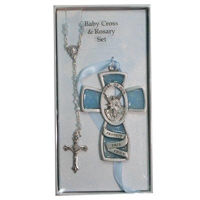 blue-guardian-angel-wall-cross-rosary-set-childrens-baby-infant-boy-christening-baptism
