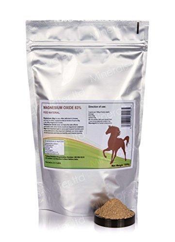 1kg MAGNESIO óxido - 83% Aliviador óxido Magnesio - Caballo Equino Suplemento: Amazon.es: Productos para mascotas