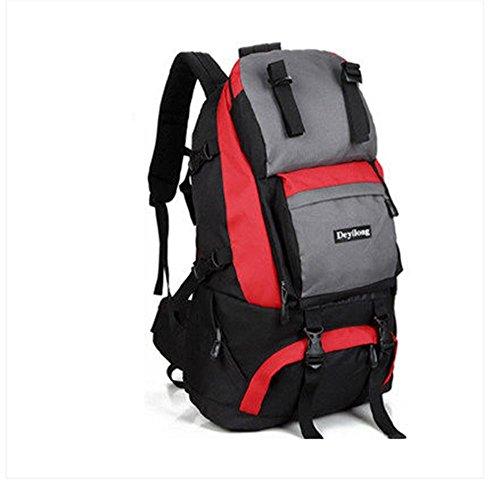 BUSL Los hombres y las mujeres al aire libre del alpinismo mochila bandolera mochila de senderismo del recorrido impermeable equipo 40L . a d