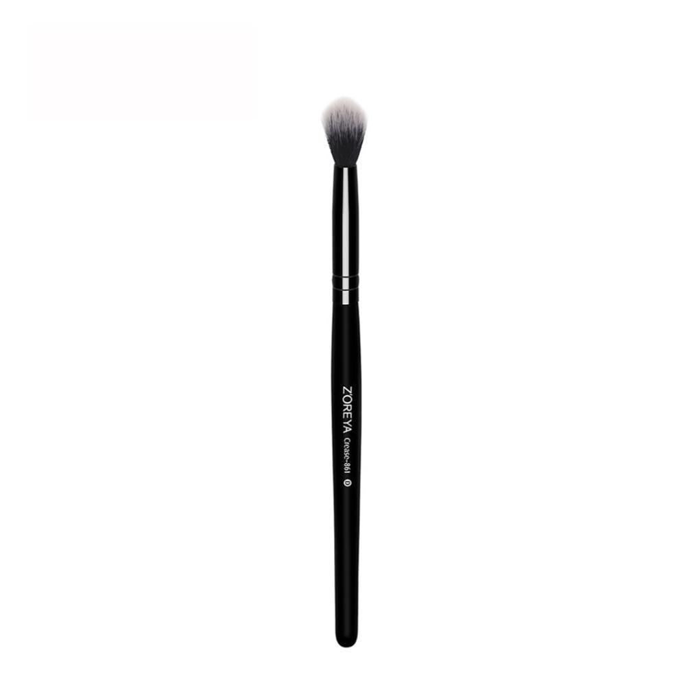 Make Up Augenpinsel,Internet Beauty Lidschatten Pinsel zum Verblenden von Lidschatten, Eyeshadow, Kosmetik Puder, Highlighter - Lidschattenpinsel Schminkpinsel Smokey Makeup Looks (Schwarz) Internet_8810