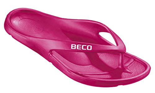 Beco Woman dedos Slipper rosa
