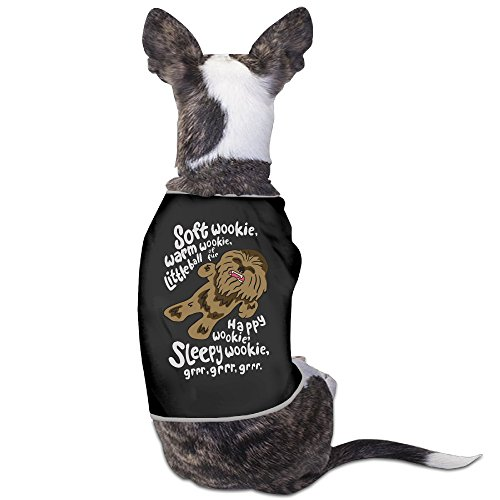 [Soft Wookie Warm Wookie Little Ball Of Fur Dog Costumes 100% Polyester Fiber Costumes] (Wookie Costume For Dog)
