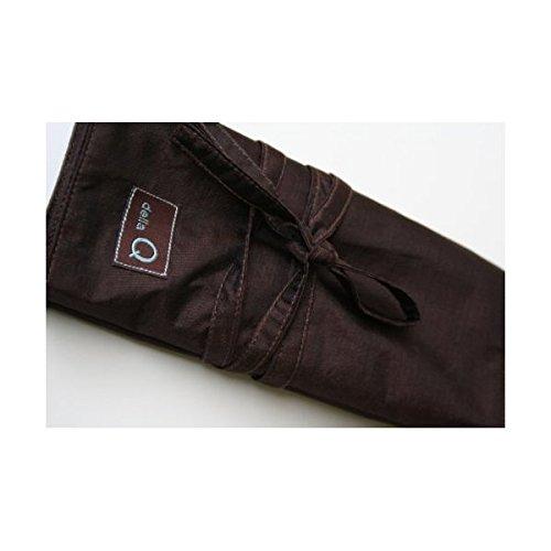Della Q Black Interchangeable Knitting Needle Case Single Set 180-1
