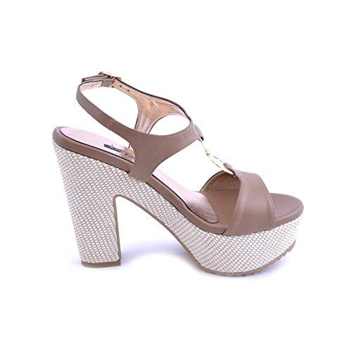 ALBANO , Damen Sandalen braun braun