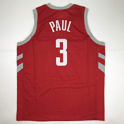 Unsigned Chris Paul Houston Red Custom Stitched Basketball Jersey Size Men's XL New No -