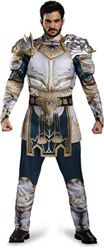 Disguise Men's Plus Size Warcraft King Llane Muscle Costume, Multi -