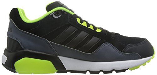 adidas Run9tis, Zapatillas de Deporte Exterior para Hombre Negro (Negbas / Negbas / Amasol)