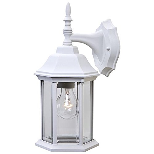 Acclaim 5182TW Craftsman 2 Collection 1-Light Wall Mount Outdoor Light Fixture, Textured White