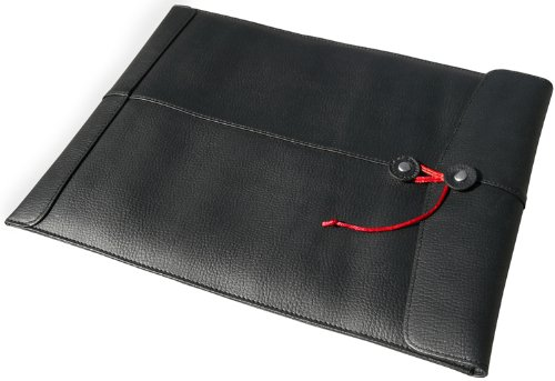 - Civilian Manila Leather Laptop Sleeve for 13-Inch MacBook Air and MacBook Pro, Black