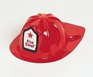 Casco de bomberos rojo bombero disfraz carnaval disfraz de carnaval NUEVO