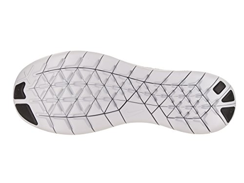 White Free Stealth Flyknit Nike Herren Rn Laufschuhe Competition Weiß UK Platinum 2017 Schwarz 6 Pure UAwpq5x