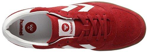 Basse Ribbon Adulto Hummel Ginnastica Unisex Red Scarpe da Victory Rosso 8YB6nYI