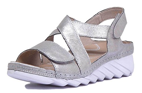 Fashion Sandals Platino 3680649730 Women's Romika q0YTPP