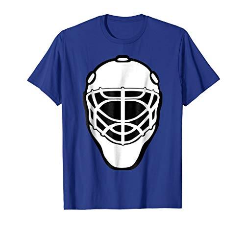 (Hockey Goalie Mask Shirt Match Goal Guard Team Fan)
