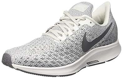 Nike Women's Air Zoom Pegasus 35 Running Shoes, Phantom/Gunsmoke-Summit White, 6 US
