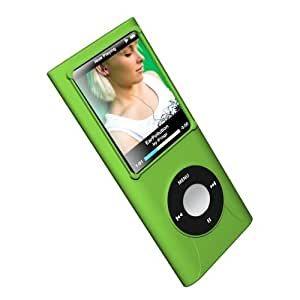 ifrogz 4th Gen Nano Silicone Wrapz - fundas para mp3/mp4 Verde