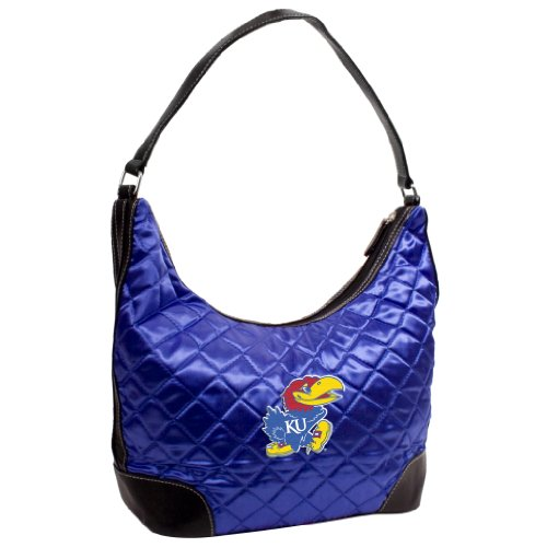 NCAA Kansas Jayhawks Quilted Hobo -