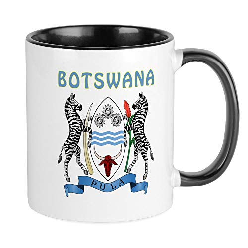 CafePress Botswana Coat Of Arms Mug Unique Coffee Mug, Coffee Cup
