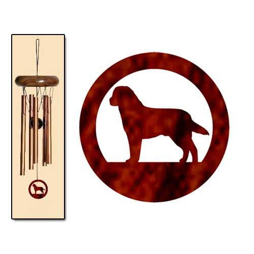 Cheap Labrador Retriever Wind Chimes X-SMALL Bronze