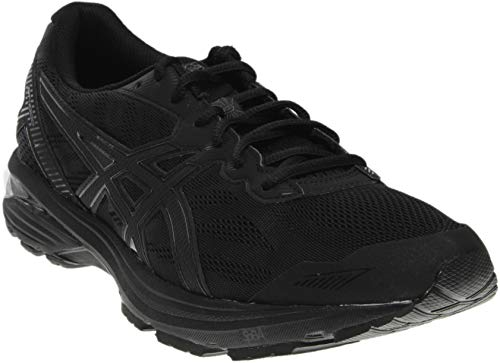 ASICS Men's Gt-1000 5 Running Shoe, Black/Onyx/Black, 10.5 M US