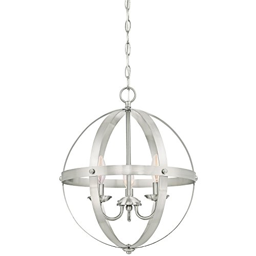 Brushed Nickel Light Pendant
