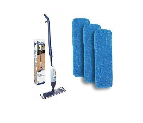 Bona Hardwood Spray Mop with 3 Microfiber Pads ()