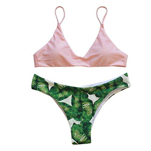 JIANLANPTT Women Pretty Bikini Swimsuit