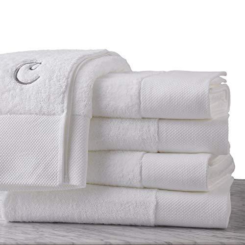 Calla Angel Superior 1000 Gram Egyptian Cotton Oversize 63 x 31 Bath Towel, 1 Piece, Logo -
