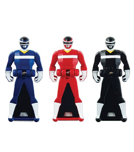 Power Rangers Super Megaforce - In Space Legendary Ranger Key Pack, Red/Blue/Black