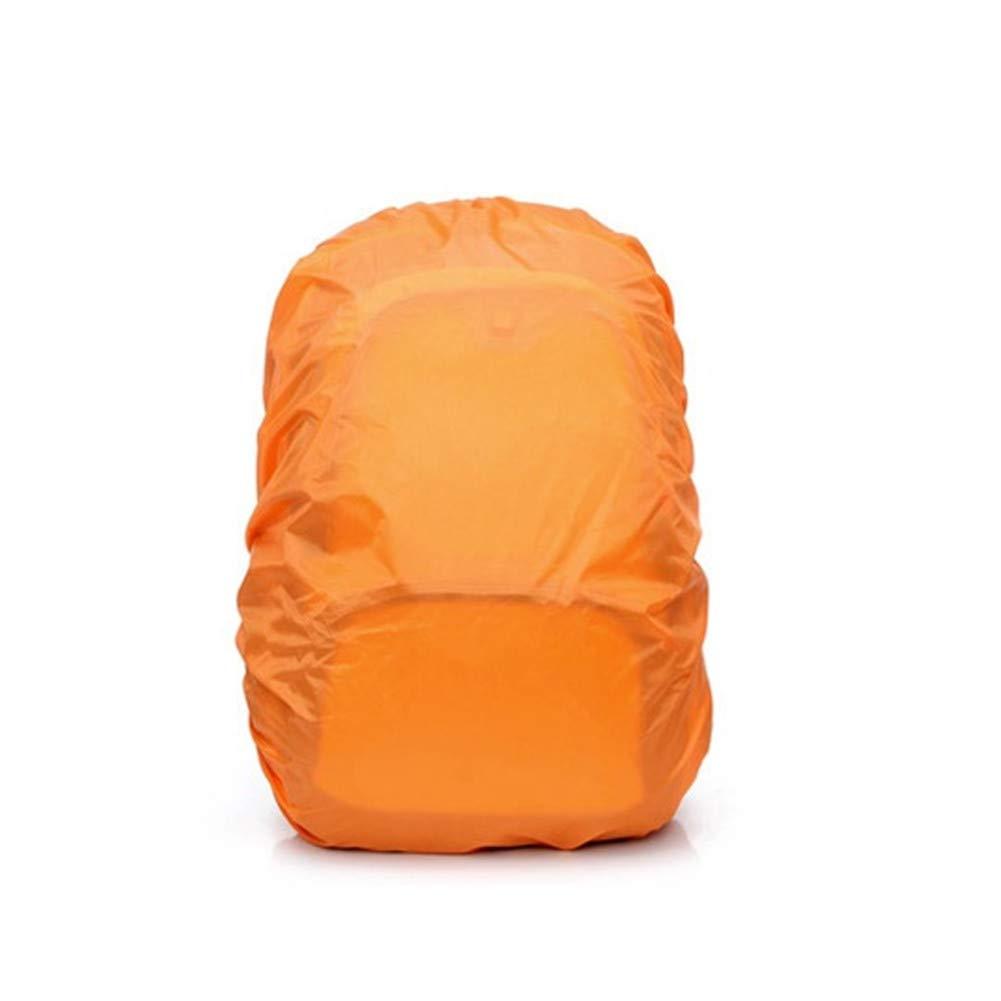 FAMLYJK 20-85L Funda Impermeable para Mochila Mochila para Impermeable para Caminatas, campamentos, Viajes, Actividades al Aire Libre (2 Piezas),Naranja,20to35L 765604