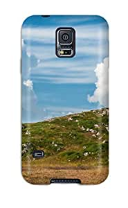 Fashionable Style Case Cover Skin For Galaxy S5- Landscape Field