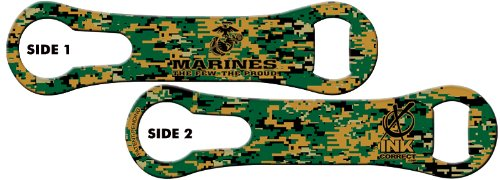 V-ROD™ Bone Bottle Opener and Pour Spout Remover: USMC For Sale