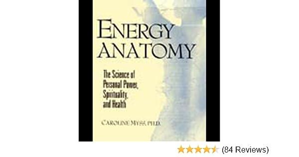 Amazon Energy Anatomy Audible Audio Edition Caroline Myss