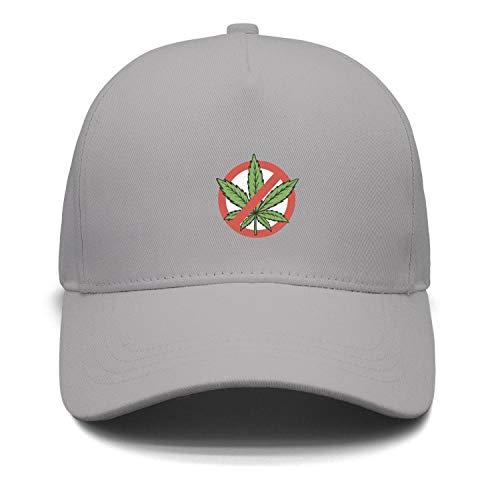NO Marijuana Weed Men's caps Retro Trucker hat Funky Snapback Hats for Men Durability Baseball Hat Strapback Hat