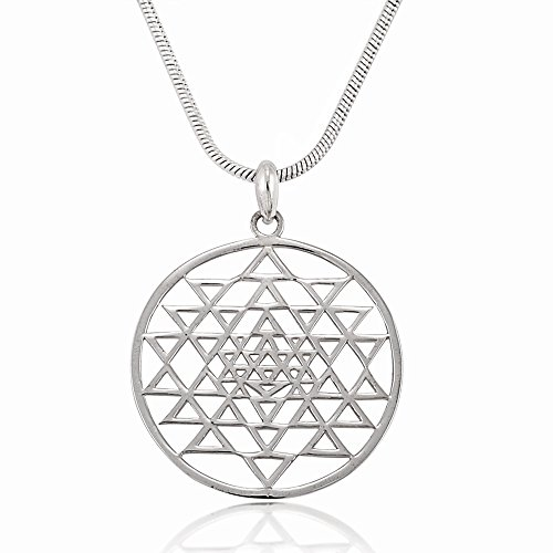 Sterling Fullfill Positive Pendant Necklace product image