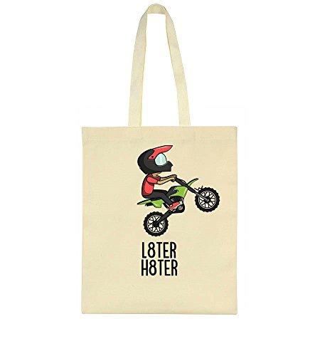 Motocross L8ter L8ter Tote Bag Motocross H8ter H8ter Tote Motocross Bag Tote Bag H8ter L8ter H8ter L8ter Motocross Uq75wxBxz
