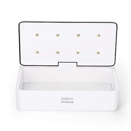 SUNUV LED UV Esterilizador, Desinfección de 180 Segundos ...