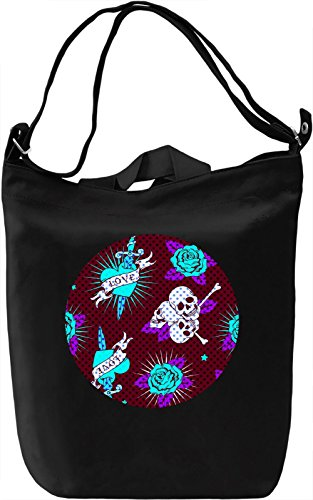 Gothic Texture Borsa Giornaliera Canvas Canvas Day Bag| 100% Premium Cotton Canvas| DTG Printing|