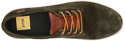 visit online cheap sale original HUF Men's Sutter Skateboard Shoe Olive N25CKwWUAX