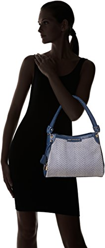 Women's Douglas Bag Mac Ch97 Bleu Shoulder chevron Fortissimo Fantasia Blue Ff5qUw5x